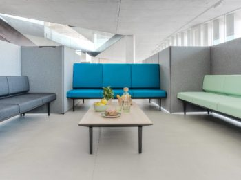 Soft Seating Longo Actiu Mobiliario de oficina Impacto Valencia