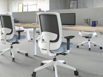 Silla de oficina Actiu Trim sillería mobiliario de oficina en Valencia Impacto Diseño